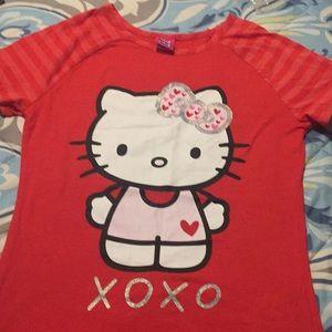 Hello kitty teen t shirt